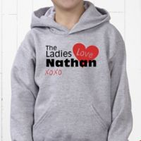 Ladies Love Me Hanes® Youth Hooded Sweatshirt