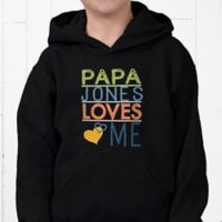 Look Who Loves Me Youth Hooded Sweatshirt