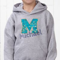 His Name Hanes® Youth Hooded Sweatshirt