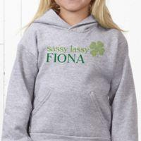 Born Lucky Hanes® Youth Hooded Sweatshirt