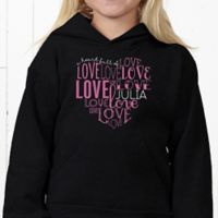 A Heart Full Of Love Hanes® Youth Hooded Sweatshirt