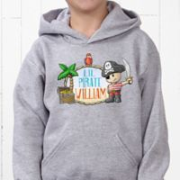 Lil' Pirate Hanes® Youth Hooded Sweatshirt