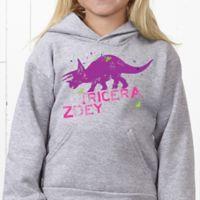 Dinosaur Hanes® Youth Hooded Sweatshirt