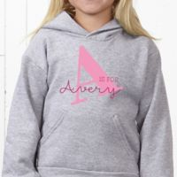 Alphabet Fun Hanes® Youth Hooded Sweatshirt