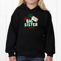 Promoted By Santa Youth Hooded Sweatshirt