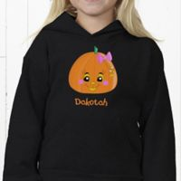 Hanes Miss Pumpkin Youth Hooded Sweatshirt
