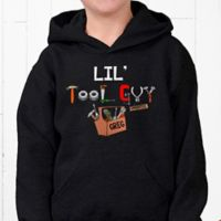 Lil' Tool Guy Hanes® Youth Hooded Sweatshirt