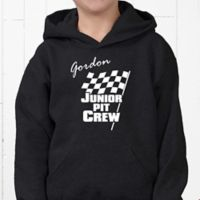 Pit Crew Hanes® Youth Hooded Sweatshirt
