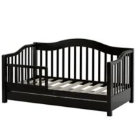 Dream On Me Toddler Daybed in Black