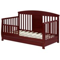 Dream On Me Deluxe Toddler Daybed in Cherry