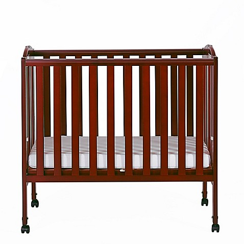 Dream On Me 2-in-1 Folding Portable Pine Crib - Bed Bath & Beyond