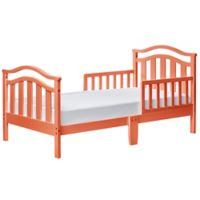 Dream On Me Elora Toddler Bed in Fusion Coral