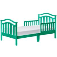 Dream On Me Elora Toddler Bed in Emerald
