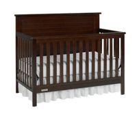 Fisher-Price® Lucas 4-in-1 Convertible Crib in Light Espresso