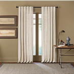 Cambria® Malta 84-Inch Rod Pocket/Back Tab Window Curtain Panel in Snow White