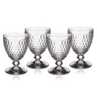 Villeroy & Boch® Boston 14 oz. Wine Goblets in Clear (Set of 4)