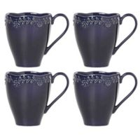 Lenox® Chelse Muse Floral Navy™ Mugs (Set of 4)