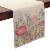 Garden Floral 70-Inch Table Runner