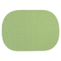 Summer Waffle Grid Placemats in Green (Set of 4)
