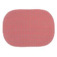 Summer Waffle Grid Placemats in Red (Set of 4)