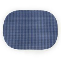Summer Waffle Grid Placemats in Navy (Set of 4)