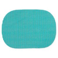Summer Waffle Grid Placemats in Turquoise (Set of 4)