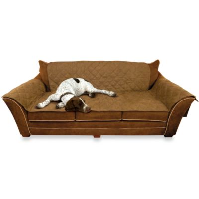 Sofa pet covers Leather Kh Pet Products Sofa Cover In Mocha Bed Bath Beyond Buy Pet Furniture Covers For Sofas Bed Bath Beyond