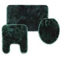 Wamsutta® Duet 3-Piece Bath Rug Set in Slate