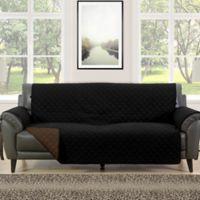 Morgan Home Barrett Micro-Fiber Reversible Sofa Slipcover