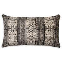 Aahana Oblong Throw Pillow in Black