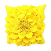 Sunnyside Square Indoor/Outdoor Throw Pillow in Yellow