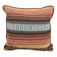 Coronado Sedona Square Multicolored Throw Pillow