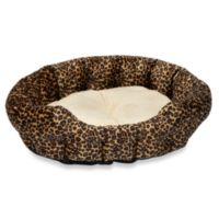 K&H Self-Warming Pet Nuzzle Nestin Leopard