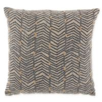 Studio NYC Designs Embroidered Arrow Square Throw Pillow in Linen