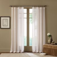 Cambria® Terra 108-Inch Rod Pocket Sheer Window Curtain Panel in Natural