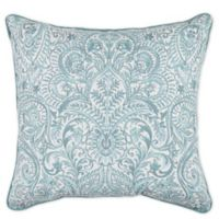 Arcadia Square Throw Pillows in Spa (Set of 2)