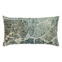 Rizzy Home Abstract 14-Inch x 26-Inch Oblong Throw Pillow in Grey