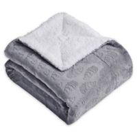Harold the Hedgehog Throw Blanket in Grey