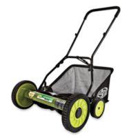 Sun Joe® Mow Joe MJ501M 18-Inch Manual Reel Lawn Mower with Catcher