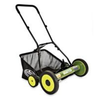 Sun Joe Mow Joe MJ502M 20-Inch Manual Reel Mower with Catcher
