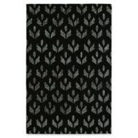 Kaleen Stresso Urbino 4' x 6' Area Rug in Black