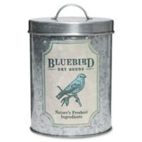Global Amici Stainless Steel Canister in Galvanized