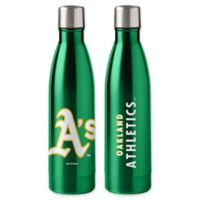 MLB Oakland Athletics 18 oz. Stainless Steel Water Bottle