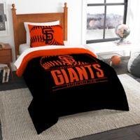 MLB San Francisco Giants Grand Slam Twin Comforter Set