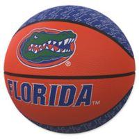 University of Florida Repeat Logo Mini Rubber Basketball