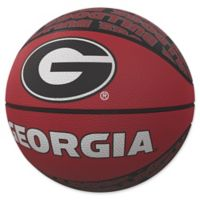 University of Georgia Repeat Logo Mini Rubber Basketball