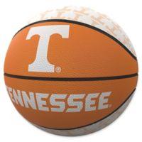 University of Tennessee Repeat Logo Mini Rubber Basketball