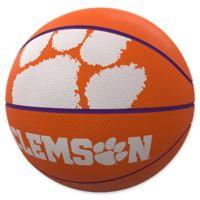 Clemson University Mascot Official-Size Rubber Basketball