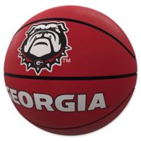 University of Georgia Mascot Official-Size Rubber Basketball
