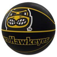University of Iowa Mascot Official-Size Rubber Basketball